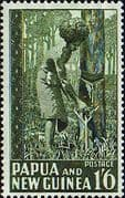 Papua New Guinea 1952 SG 11 Rubber Tapping Fine Mint