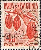 Postage Stamps Papua New Guinea 1958 Agriculture SG 18 Fine Used Scott 140