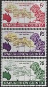 Papua New Guinea 1962 South South Pacific Conference Set Fine Used