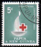 Papua New Guinea Stamps 1963 Red Cross Centenary Fine Mint SG 46 Scott 174