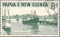 Papua New Guinea 1963 SG 47 Water Front Port Moresby Fine Used