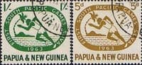 Papua New Guinea 1963 South Pacific Games Set Fine Used
