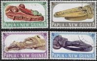 Papua New Guinea 1965 Sepik Canoe Prows in Port Moresby Museum Set Fine Used