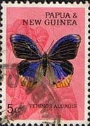 Papua New Guinea 1966 Butterflies SG 85 Fine Used