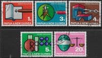Papua New Guinea 1967 Higher Education Set Fine Used