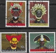 Papua New Guinea 1968 National Heritage Set Fine Used