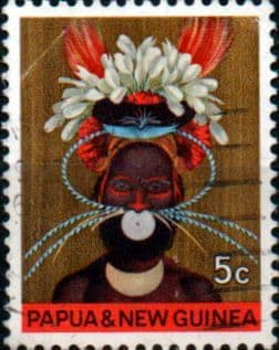 Postage Stamps Papua New Guinea 1968 National Heritage Set Fine Mint