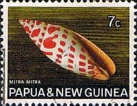 Papua New Guinea 1968 Sea Shells SG 141 Fine Used