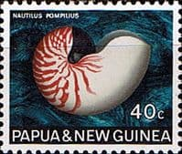 Papua New Guinea 1968 Sea Shells SG 148 Fine Mint