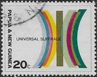 Papua New Guinea 1968 Universal Suffrage SG 135 Fine Used
