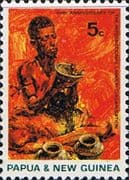 Papua New Guinea 1969 lnternational Labour Organization Fine Mint
