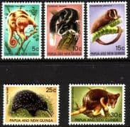 Papua New Guinea 1971 Fauna Conservation Set Fine Mint