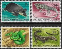 Papua New Guinea 1972 Fauna Conservation Set Fine Used