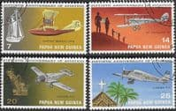 Papua New Guinea 1972 Planes Set Fine Used