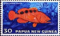 Papua New Guinea 1976 Fauna Conservation Tropical Fish SG 316 Fine Mint