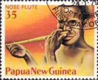 Papua New Guinea 1979 Musical Instruments SG 361 Fine Used