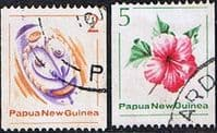 Papua New Guinea 1981 Coil Stamps Set Fine Used