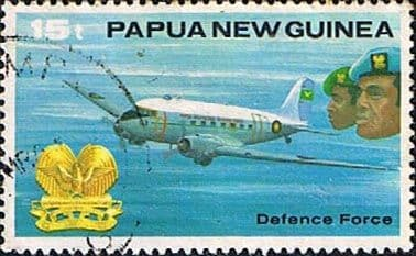 Postage Stamps Papua New Guinea 1981 Defence Force SG 409 Fine Used Scott 537
