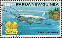 Papua New Guinea 1981 Defence Force SG 409 Fine Used