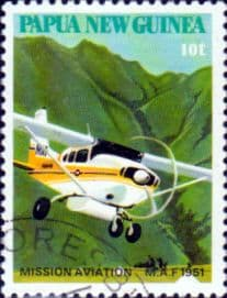 Papua New Guinea 1981 Mission Aviation SG 412 Fine Used