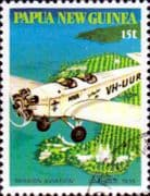 Papua New Guinea 1981 Mission Aviation SG 413 Fine Used
