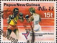 Papua New Guinea 1982 Commonwealth Games SG 461 Fine Used