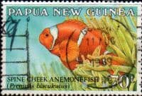 Papua New Guinea 1987 Fish Anemonefish SG 542 Fine Used