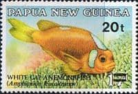 Papua New Guinea 1989 Surcharged Fish SG 602 Fine Mint