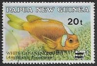 Papua New Guinea 1989 Surcharged Fish SG 602 Fine Used