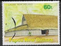 Papua New Guinea 1989 Traditional Dwellings SG 595 Fine Used