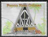 Papua New Guinea 1989 Traditional Dwellings SG 596 Fine Used