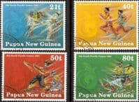 Papua New Guinea 1991 South Pacific Games Set Fine Used