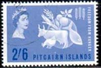 Pitcairn Islands 1963 Freedom From Hunger Fine Used