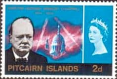 Stamps of Pitcairn Islands 1966 Churchill Set Fine Mint