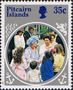 Postage Stamp Stamps Pitcairn Islands 1985 Queen Mother Life and Times SG 269 Fine Mint Scott 254