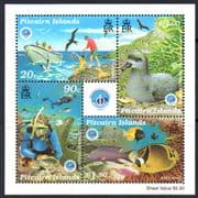 Pitcairn Islands 1998 International Year of the Ocean Miniature Sheet Fine Mint