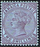 Postage Stamps of Jamaica