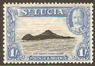 Postage Stamps of The Saint Islands