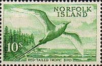 Norfolk Island 1960 Red Tailed Tropic Bird SG 36 Fine Mint
