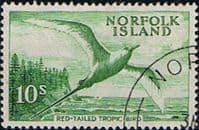 Norfolk Island 1960 Red Tailed Tropic Bird SG 36 Fine Used