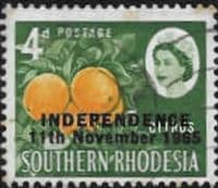 Rhodesia 1966 Independence Overprint SG 363 Fine Used
