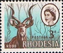 Stamps of Rhodesia 1966 Whitley Fine Mint SG 376 Scott 225