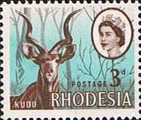 Rhodesia 1966 Whitely SG 376 Fine Mint