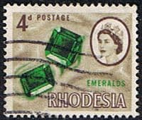 Rhodesia 1966 Whitely SG 377 Fine Used