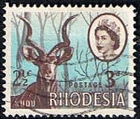 Rhodesia 1967 Dual Currency Overprints SG 408 Fine Used
