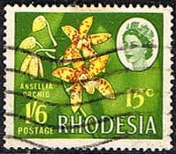 Rhodesia 1967 Dual Currency SG 410 Fine Used