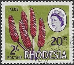 Rhodesia 1967 Dual Currency SG 411 Fine Used
