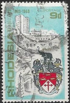 Stamps of Rhodesia 1968 Matabeleland Set Fine Mint