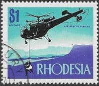 Rhodesia 1970 Air Rescue SG 451 Fine Used