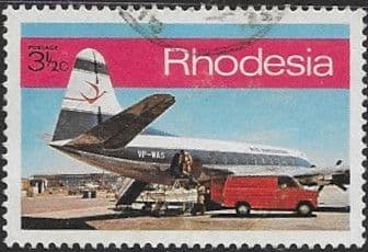 Rhodesia 1970 Post and Telecommunications SG 454 Fine Used